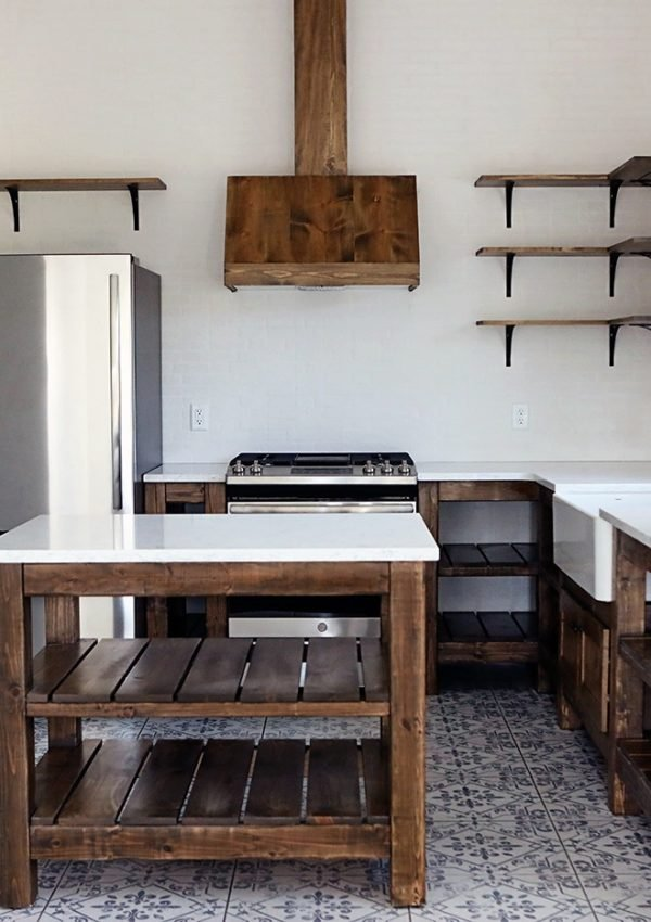 Farmhouse Kitchen Design in the Barn Remodel