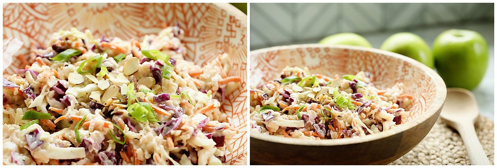 Crunchy Apple Coleslaw