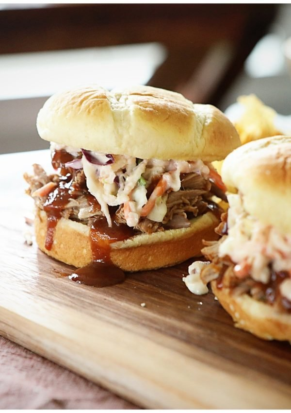 Perfect Instapot Pulled Pork Sandwiches