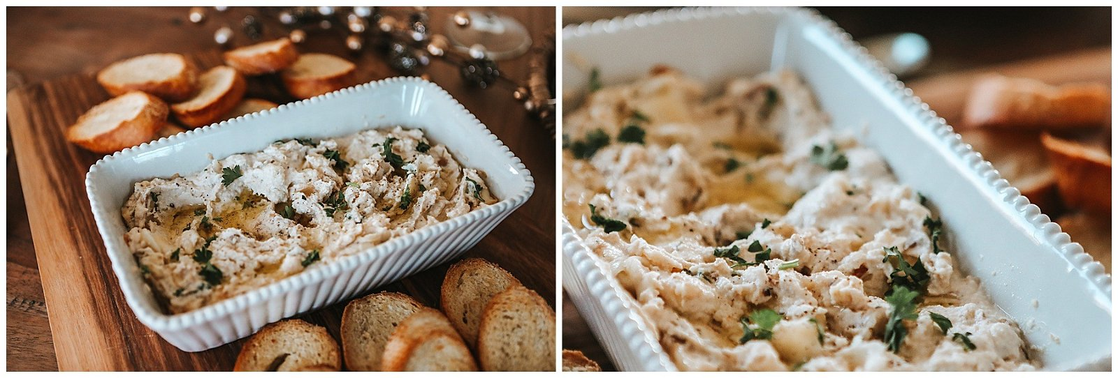 Caramelized Onion & rosemary Ricotta Dip