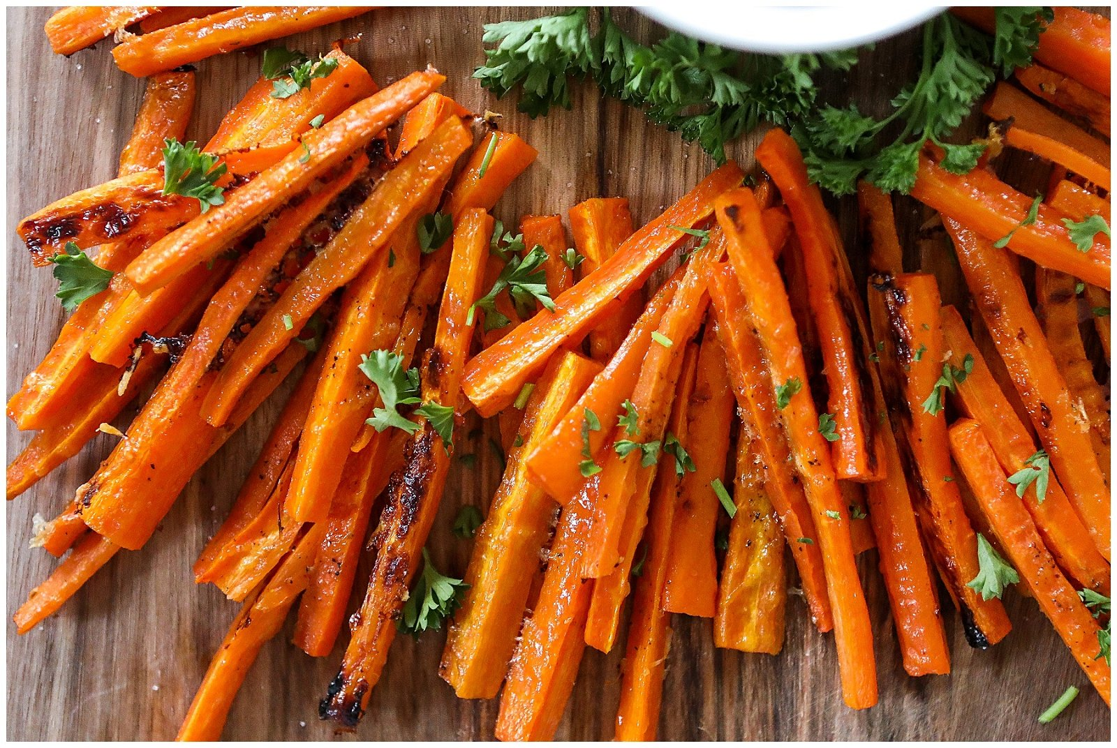 Perfect Roasted Carrot Fries