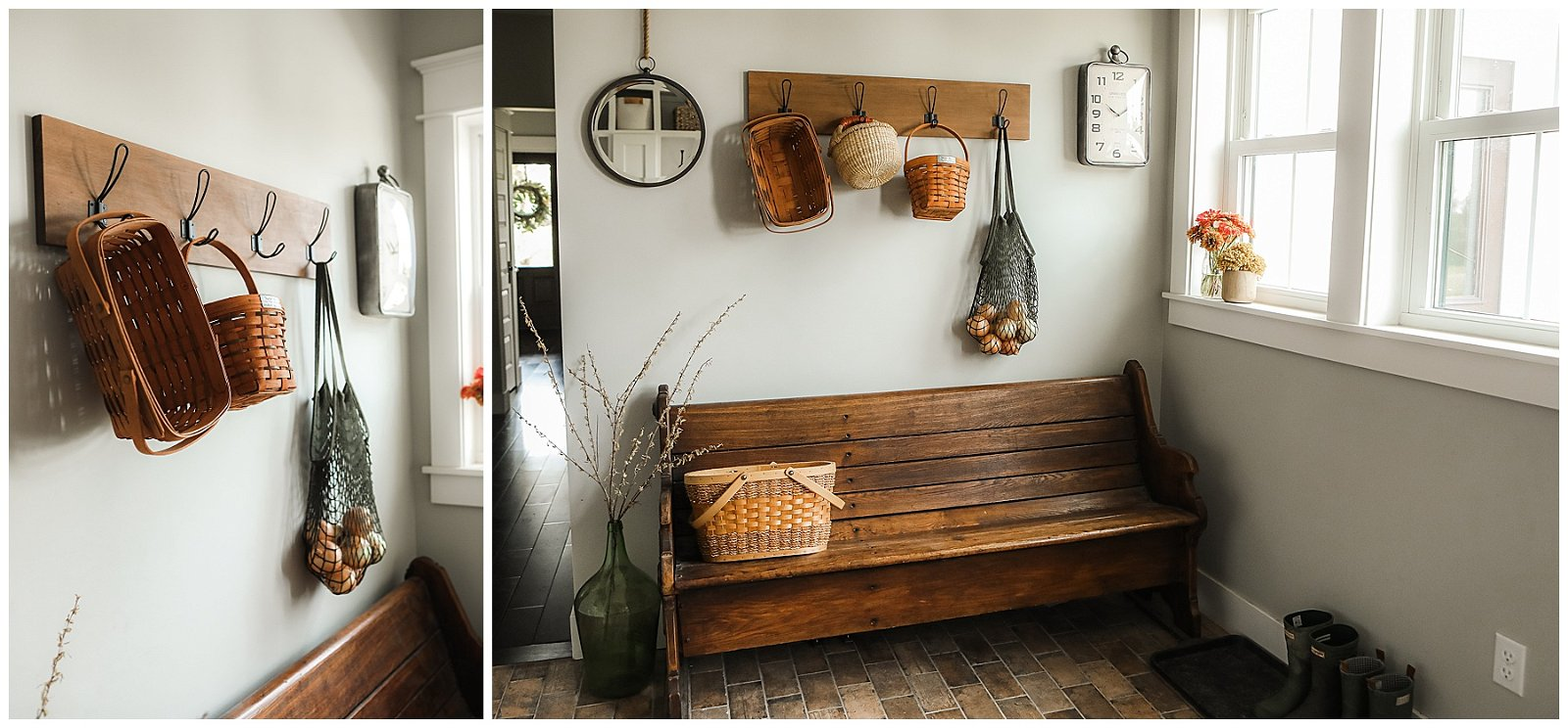 Mudroom seating
