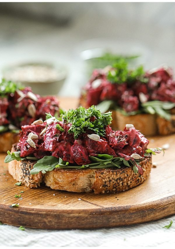 Roasted Beet Toast