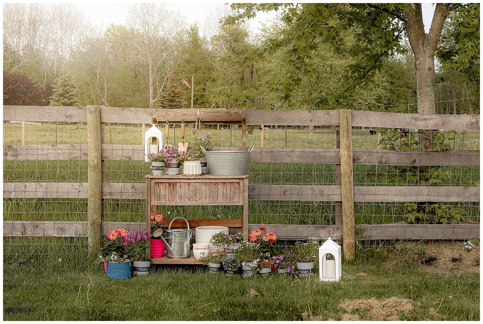 Potting bench space