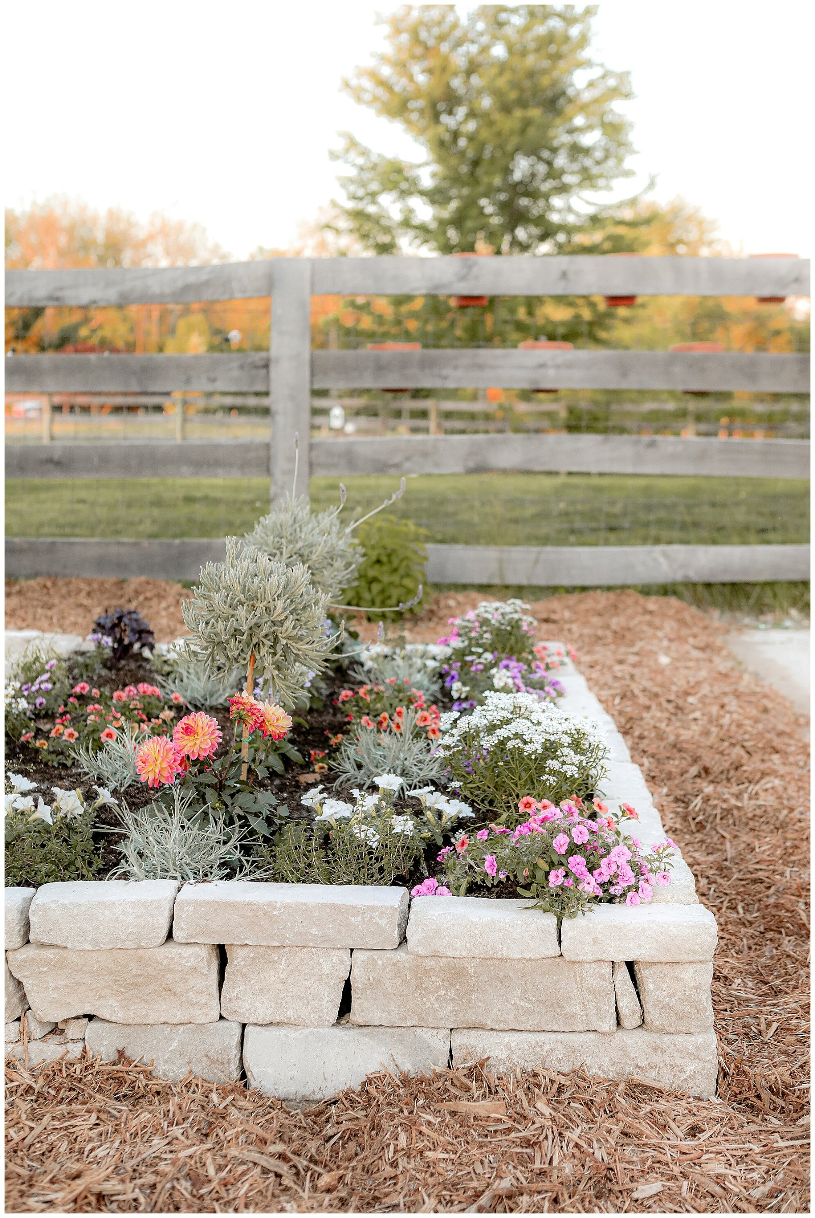 How to build a stone garden bed