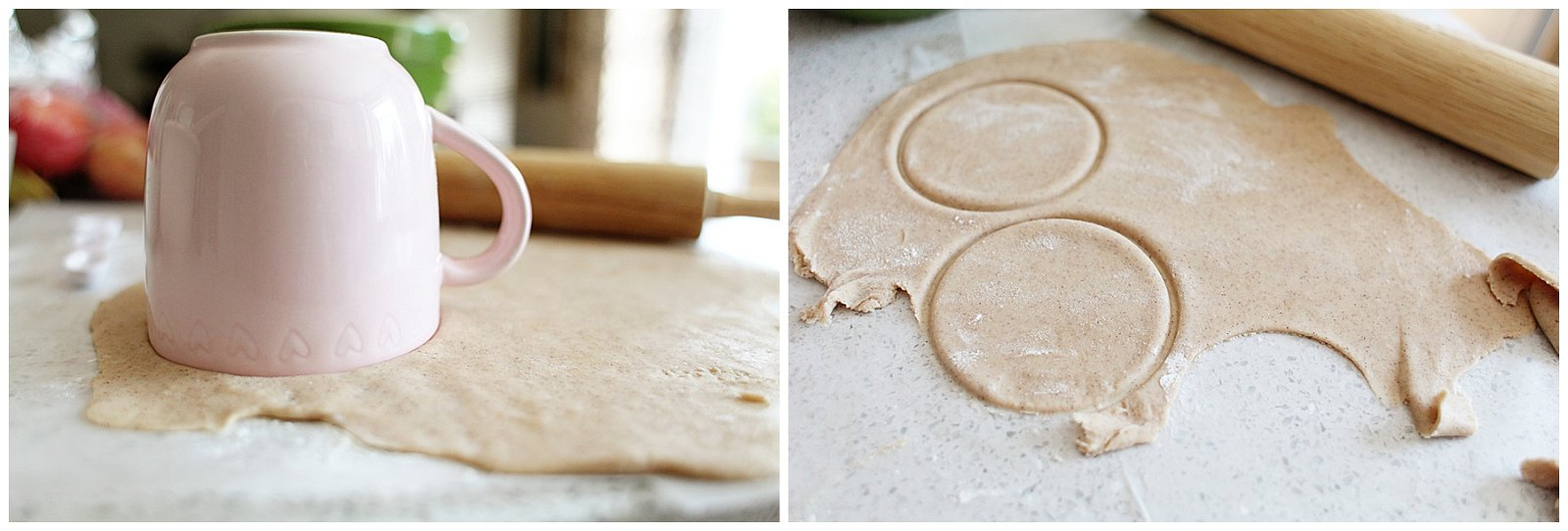 Creating dough for hand pies
