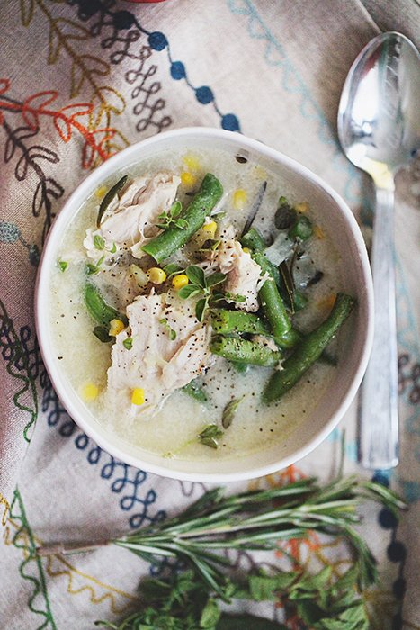 Savory Turkey Soup recipe
