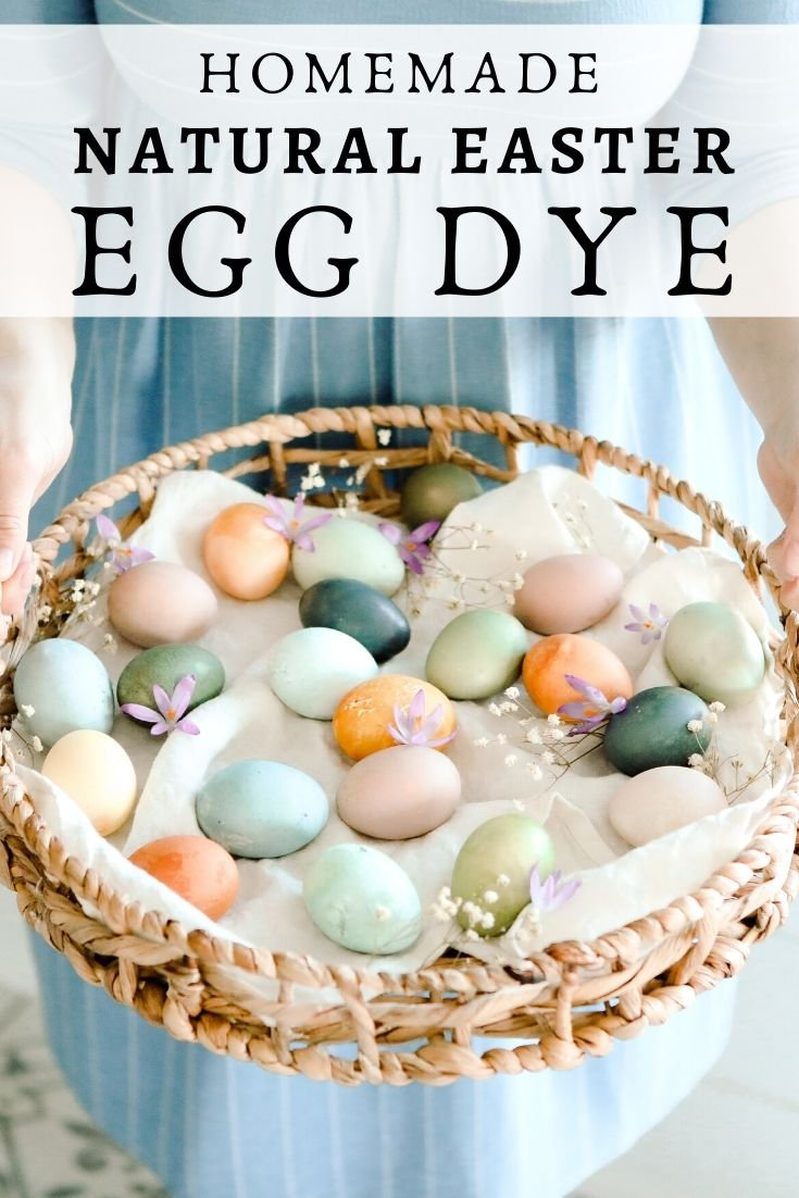 How to make natural Easter egg dye