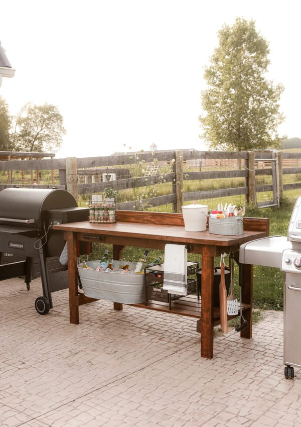 Outdoor Kitchen DIY project