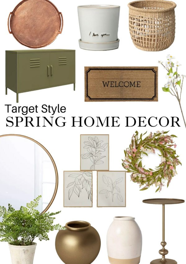 Target Spring Home Decor Finds