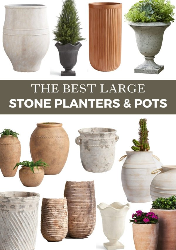 The best large stone planters for 2021