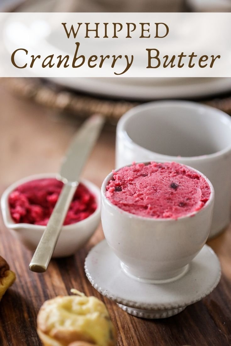 Whipped Cranberry Butter